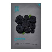 Holika Holika Pure Essence Mask Sheet - Charcoal, maseczka na bawełnianej płachcie z ekstraktem z węgla, 23ml