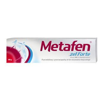 Metafen żel Forte, (100 mg/g), żel, 100 g