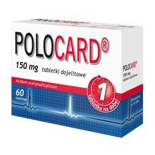 Polocard, 150 mg, tabletki dojelitowe, 60 szt.