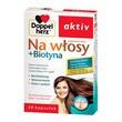Doppelherz aktiv Na włosy + Biotyna, kapsułki, 30 szt.