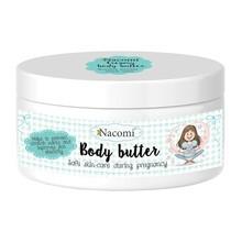 Nacomi, lekkie masło do ciała, dla kobiet w ciąży, 100 ml
