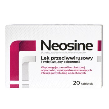 Neosine, 500 mg, tabletki, 20 szt.