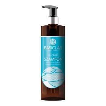 BasicLab Capillus, szampon do włosów cienkich, 300 ml