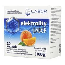 Elektrolity Labor, proszek, 20 saszetek