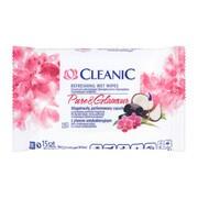 Cleanic Pure & Glamour, chusteczki odświeżające, 15 szt.