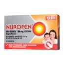 Nurofen dla dzieci, 125 mg, czopki, 10 szt.