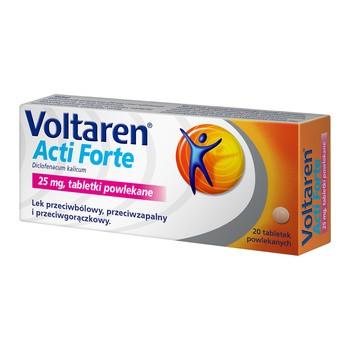Voltaren Acti Forte, 25 mg, tabletki powlekane, 20 szt.