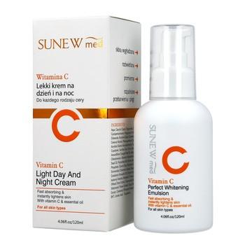 SunewMed+, lekki krem na dzień i na noc, 120 ml