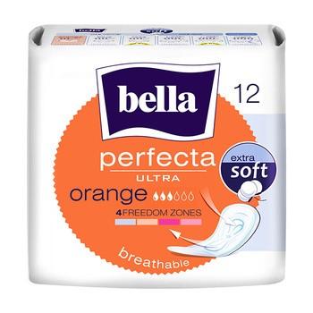 Bella Perfecta Ultra Orange, ultracienkie podpaski, bezzapachowe, 12 szt.