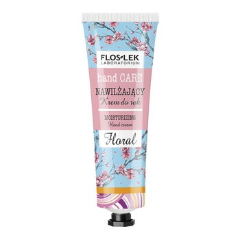 FlosLek Laboratorium Hand Care, nawilżający krem do rąk, Floral, 50 ml