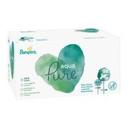 Pampers Aqua Pure, chusteczki nawilżane dla niemowląt, 9 x 48 szt.