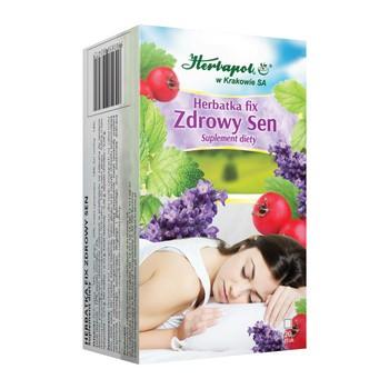 Herbatka Zdrowy Sen, fix, 1,5 g, saszetki, 20 szt. (Herbapol Kraków)