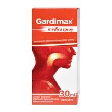 Gardimax medica spray, (20 mg + 5 mg)/10 ml, aerozol do stosowania w jamie ustnej, 30 ml