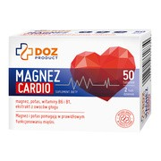 DOZ PRODUCT Magnez Cardio, tabletki powlekane, 50 szt.