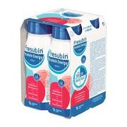 Fresubin Protein Energy Drink o smaku poziomkowym, płyn, 4 x 200 ml