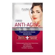 FlosLek Laboratorium Anti Aging Kuracja Hialurunowa, przeciwzmarszczkowa maseczka, 5 ml, 2 saszetki
