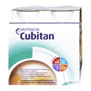 Cubitan, płyn o smaku czekoladowym, 4 x 200 ml