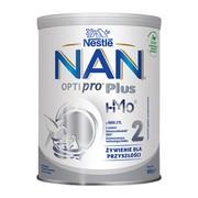 Nestle Nan Optipro Plus 2 HM-O, mleko następne dla niemowląt po 6 miesiącu, 800 g