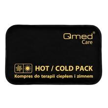 Qmed Hot/Cold Pack, kompres do terapii ciepło/zimno, czarny, 20 x 30 cm, 1 szt.
