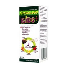 Scorbolamid Kids+, płyn, 115 ml