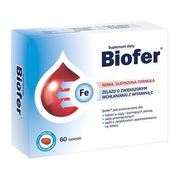 Biofer, tabletki, 60 szt.