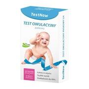 TestNow, test owulacyjny, paskowy, 10 szt. + test ciążowy, 2 szt.