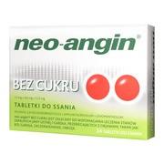 Neo-Angin bez cukru, tabletki do ssania, 24 szt.