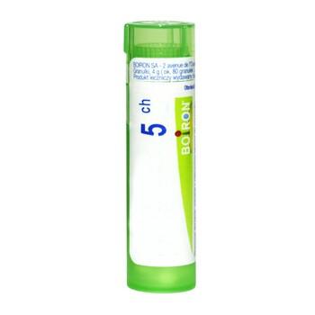 Boiron Myristica sebifera, 5 CH, granulki, 4 g