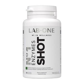 Enzymes Shot, kapsułki, 60 szt.