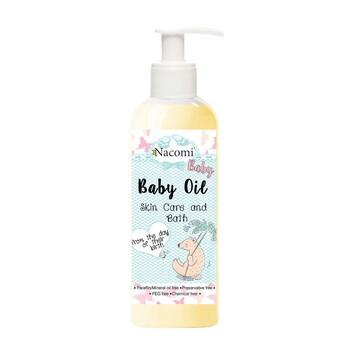 Nacomi, naturalna oliwka do ciała dla niemowląt i dzieci, 130 ml