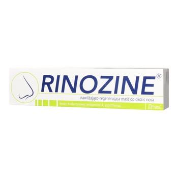 Rinozine, nawilżająco-regenerująca maść do okolic nosa, 15 g