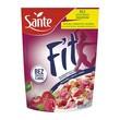 SANTE Płatki śniadaniowe fit, malina, wiśnia, 225 g