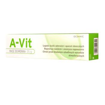 A-Vit, maść ochronna z witaminą A, 25 g