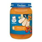 Gerber, delikatny indyk w pomidorach, 6 m+, 190 g