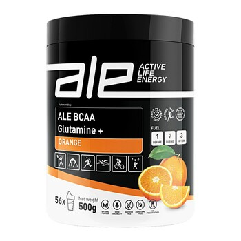 ALE Active Life Energy BCAA Glutamine+ Orange, proszek, 500 g