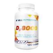 Allnutrition D3 8000, tabletki, 120 szt.