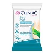 Cleanic Extra Fresh, chusteczki do higieny intymnej, 10 szt.
