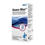 Remo-Wax, krople do uszu, 10 ml + gumowa gruszka