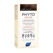 Phyto Color, farba do włosów, 6.77 jasny brąz, capuccino, 1opakowanie