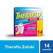 Theraflu Zatoki, 650 mg+10 mg, proszek do sporządzenia roztworu doustnego, 14 saszetek