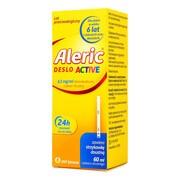 Aleric Deslo Active (Aleric Deslo), 0,5mg/ml, roztwór doustny, 60 ml