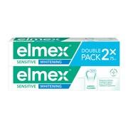 Elmex Sensitive Whitening, pasta do zębów, 75 ml x 2 opakowania