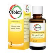 Cebion, 100 mg/ml, krople doustne, 30 ml