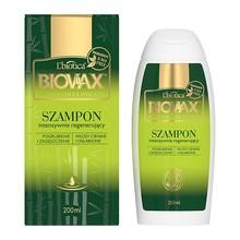Biovax Bambus & Olej Avocado, intensywnie regenerujący szampon do włosów, 200 ml