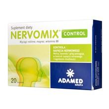Nervomix Control, kapsułki, 20 szt.