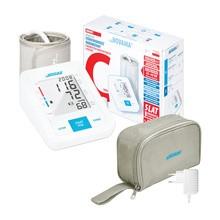 Ciśnieniomierz naramienny NOVAMA White C Comfort z zasilaczem, 1 szt.
