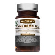 Singularis Cynk kompleks, 15 mg, kapsułki, 60 szt.