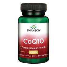 Swanson Koenzym Q10, 100 mg, kapsułki, 100 szt.