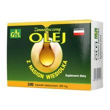 Zimnotłoczony olej z nasion wiesiołka, 500 mg, kapsułki, 100 szt.