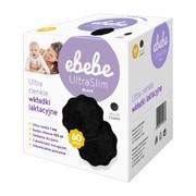 Ebebe, wkładki laktacyjne ultra slim, kolor czarny, 60 szt.